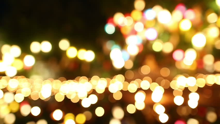 De Focused Bokeh Or Blur Candle Lighting Abstract