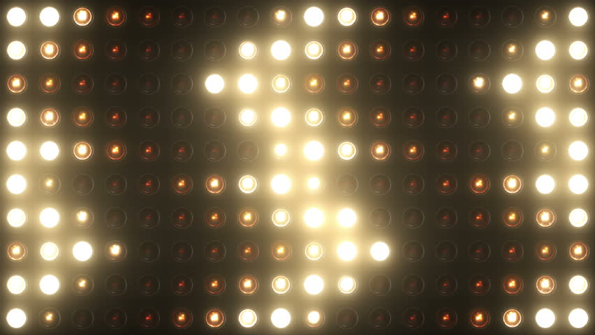 Flashing Lights Bulb Spotlight Flood lights Arrow Vj Led Wall Stage Led Display Blinking Lights Motion Graphics Background Backdrop 4k Ultra HD   Shutterstock HD Video #10391642