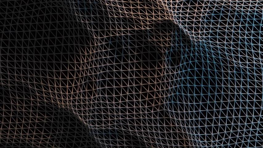 Abstract Wire Ocean Technology Background Pattern | Shutterstock HD Video #1039408487