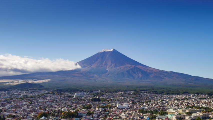 4K Time lapse Mt.Fuji in autumn season, Japan | Shutterstock HD Video #1039790447