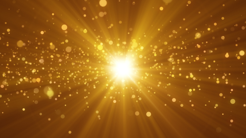 4k video. Looped animation. Wave pattern. Dotted lines. Neon waves. particles background. Seamless loop. Bokeh lights. Gold glitter. 3840x2160 | Shutterstock HD Video #1039925207