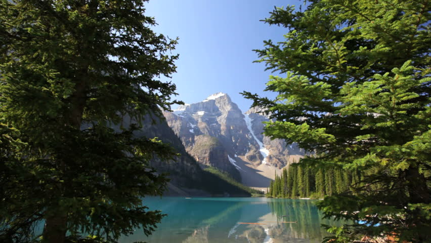 Banff National Park, Canada, Moraine Lake, tilt