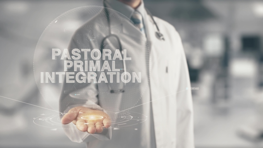 Doctor holding in hand Pastoral Primal Integration
