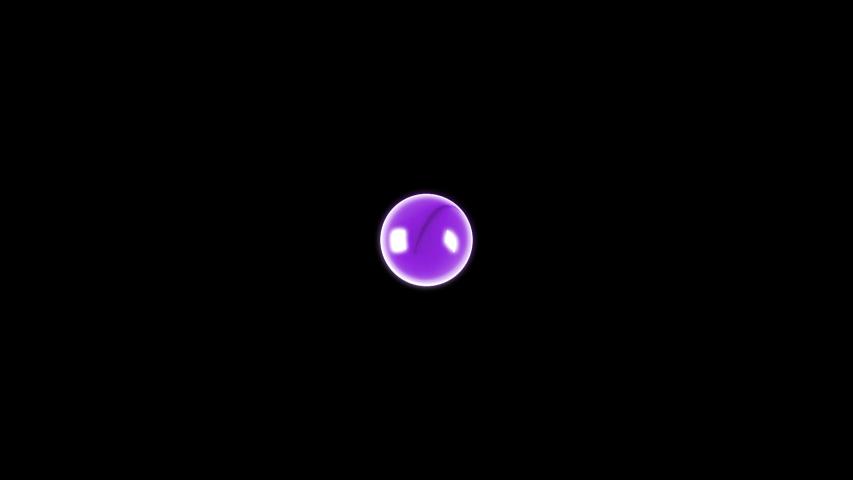 A purple drop bursting with a turbulent, violent explosion.    Shutterstock HD Video #1040662577