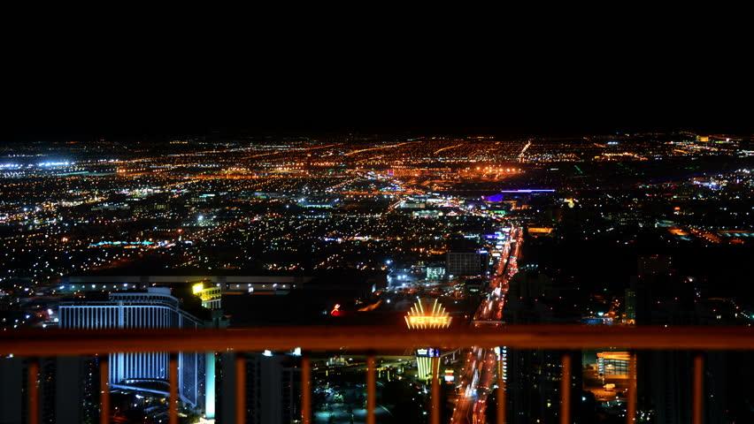 Las Vegas Timelapse Cityscape 50 Night   Shutterstock HD Video #10422407