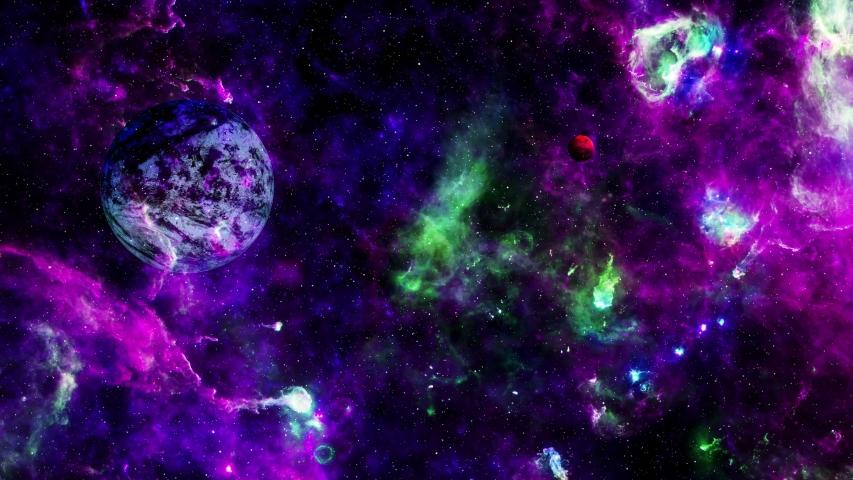 4K Flying into Amazing Deep Space | Shutterstock HD Video #1042258357