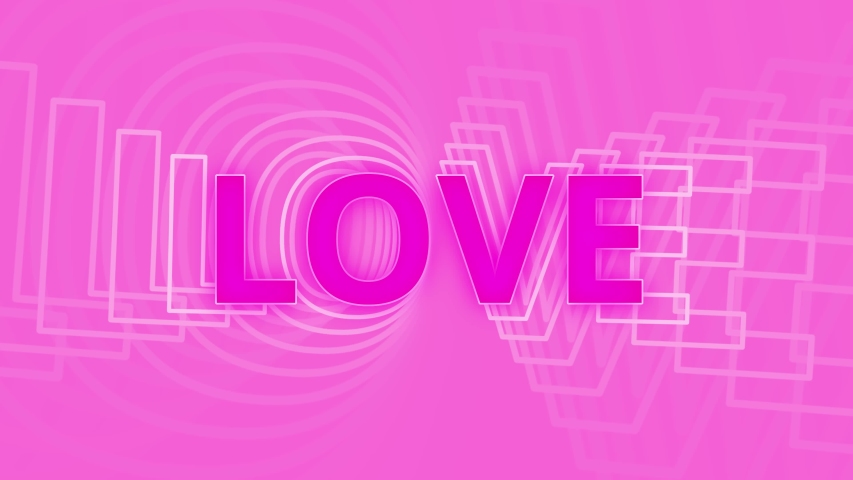 Love background animation for valentines day design. | Shutterstock HD Video #1045180567