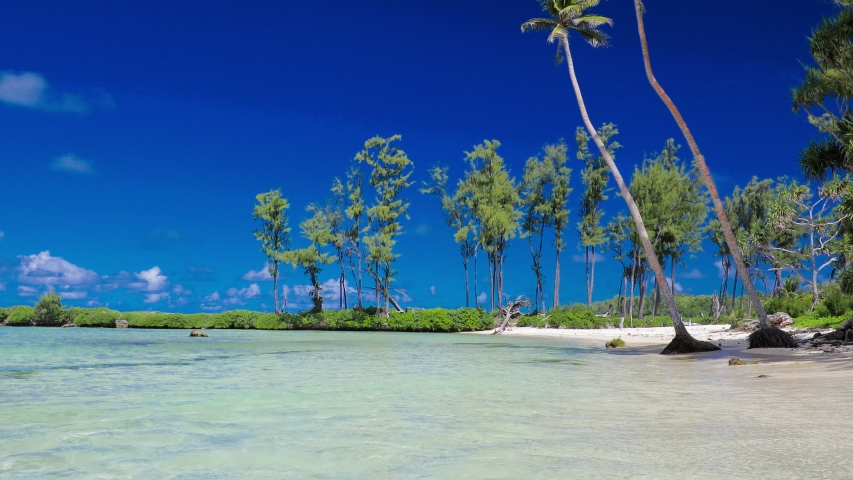 Eton Beach, Efate Island, Vanuatu, near Port Vila - famous beach on the east coast | Shutterstock HD Video #1045434577