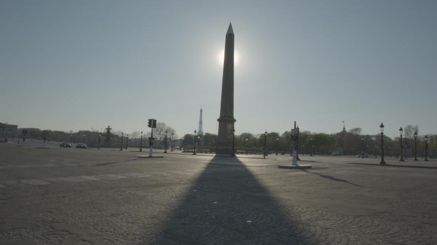 Concorde Vide Paris Coronavirus Confinement | Shutterstock HD Video #1049307307