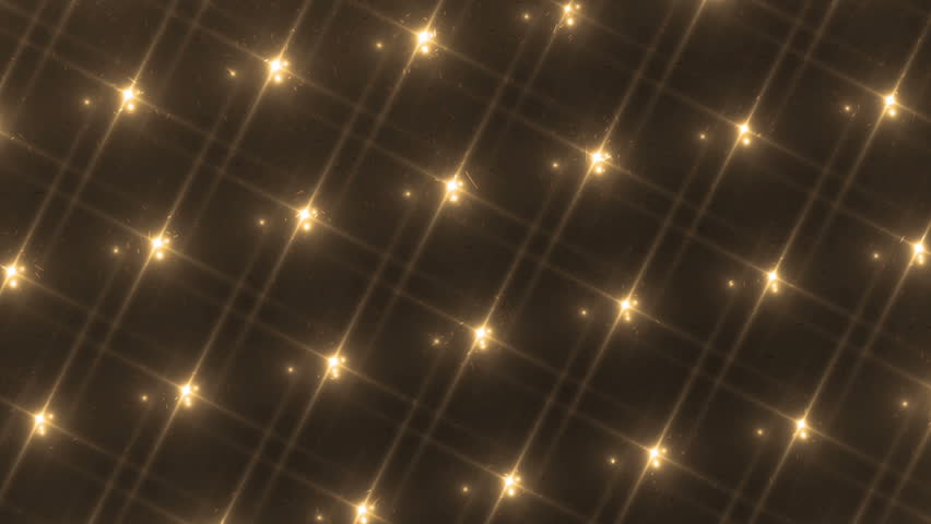 Disco spectrum lights concert spot bulb. Abstract motion background in golden colors, shining lights. Bright flood lights flashing. Seamless loop. More sets footage in my portfolio. | Shutterstock HD Video #10600667