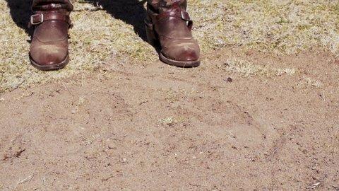 Slow Motion Cowboy Boots