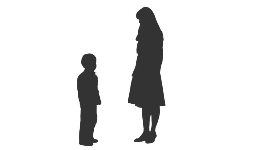Many Families Silhouette Stock Footage Video 344608 ...