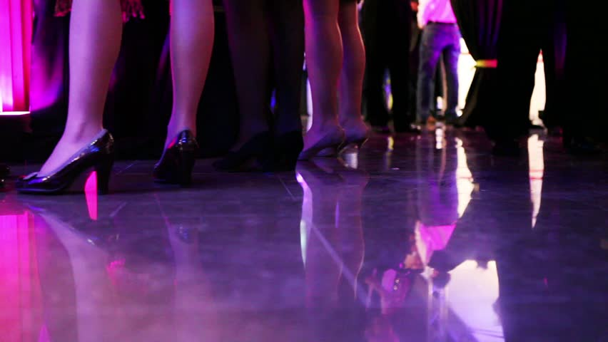 legs of people on a smart luxury party #1076767
