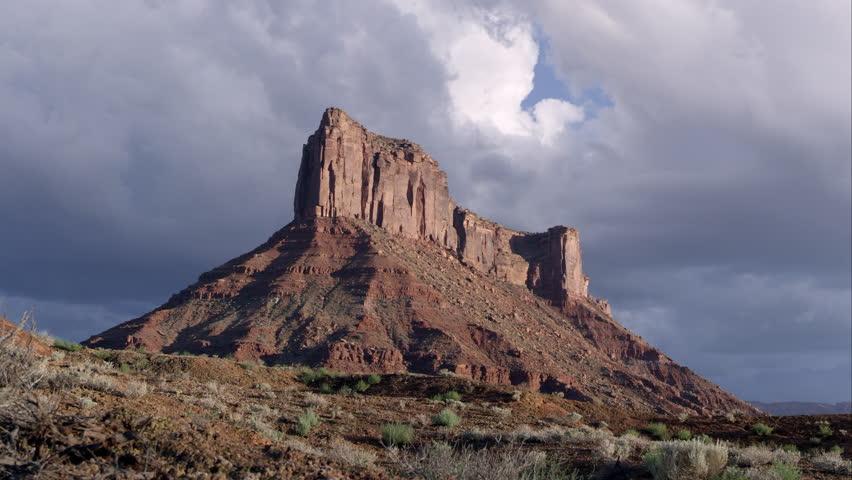 "Daylight pan of ""Parriott Mesa"" in Moab, Utah. | Shutterstock HD Video #10781570"