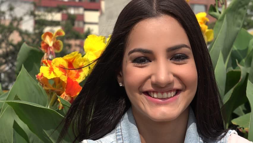 Happy Woman, Smiling Female