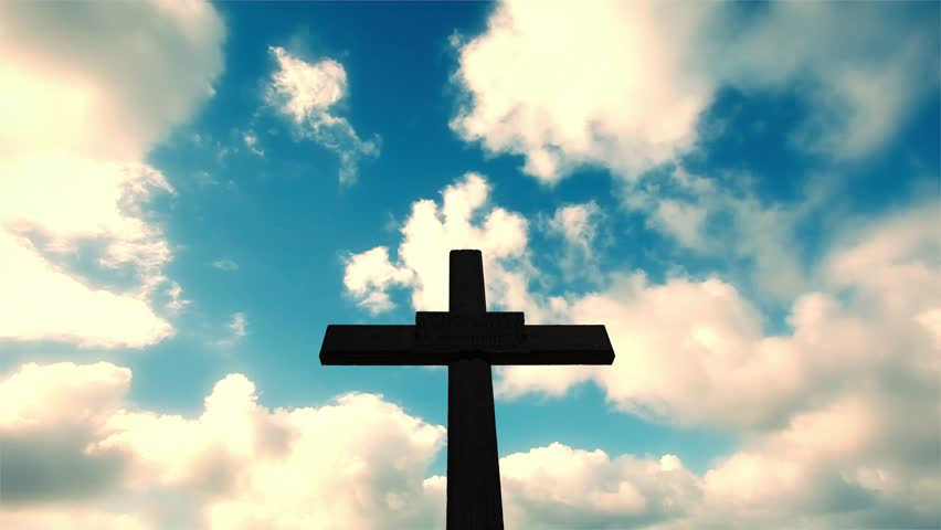 Cross with time lapse cloudsabstract religious backgrounds in cross with time lapse cloudsabstract religious backgrounds 4k stock video clip voltagebd Images