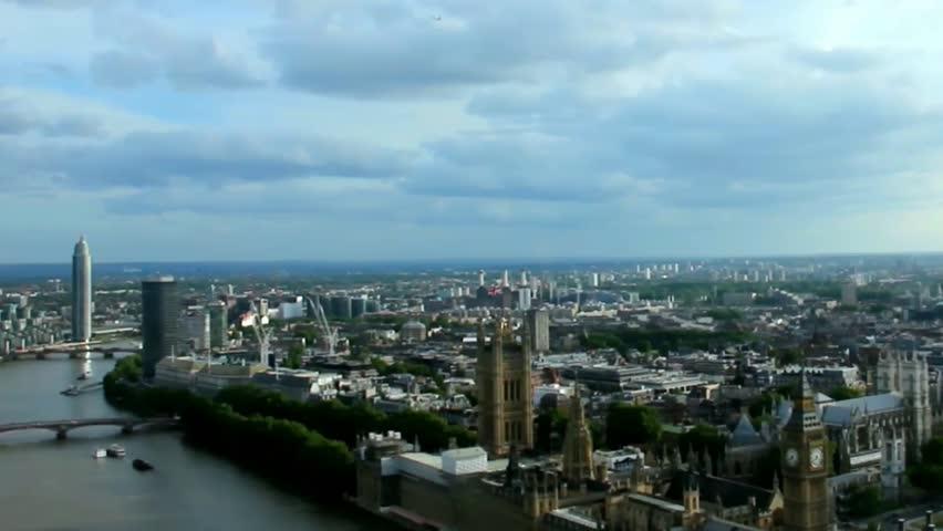 Cityscape  London . England. Slow motion video   Shutterstock HD Video #10852553