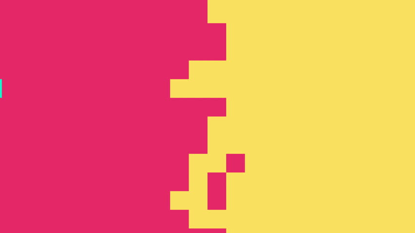 4k Pastel Pixel Animation Background Seamless Loop.