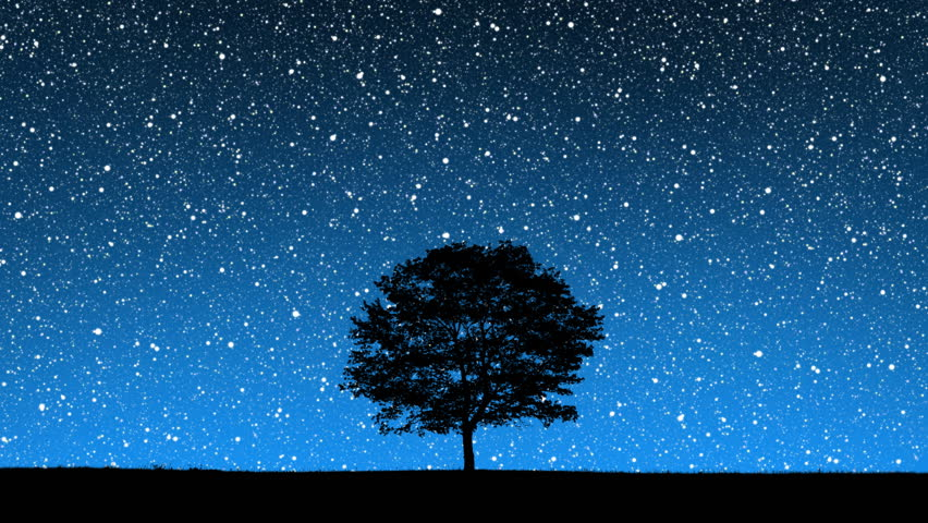 Stars Behind Hill Stock Footage Video 123565   Shutterstock