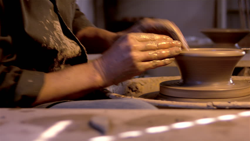 Portuguese Traditional Handicraft Man Working Stock Footage Video