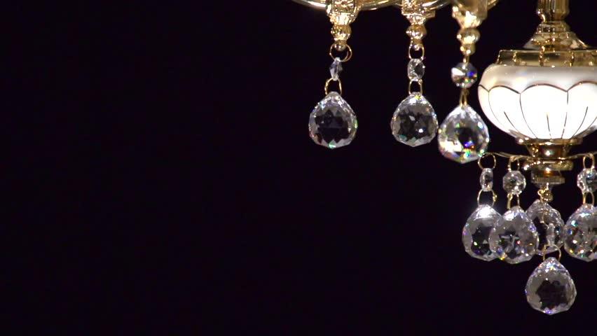 Crystal Chandelier Stock Footage Video 14781130 | Shutterstock