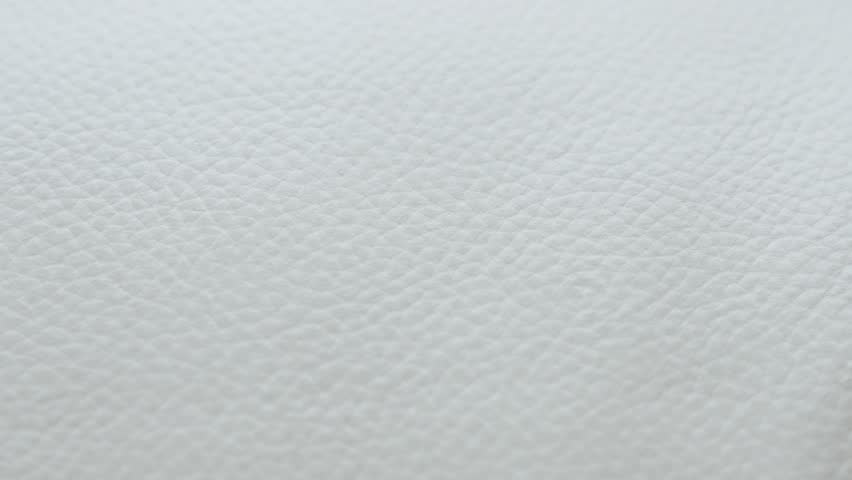 White Leather Sofa Texture Details Stock Footage Video 100