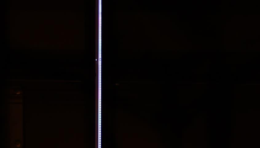 working scanner light line