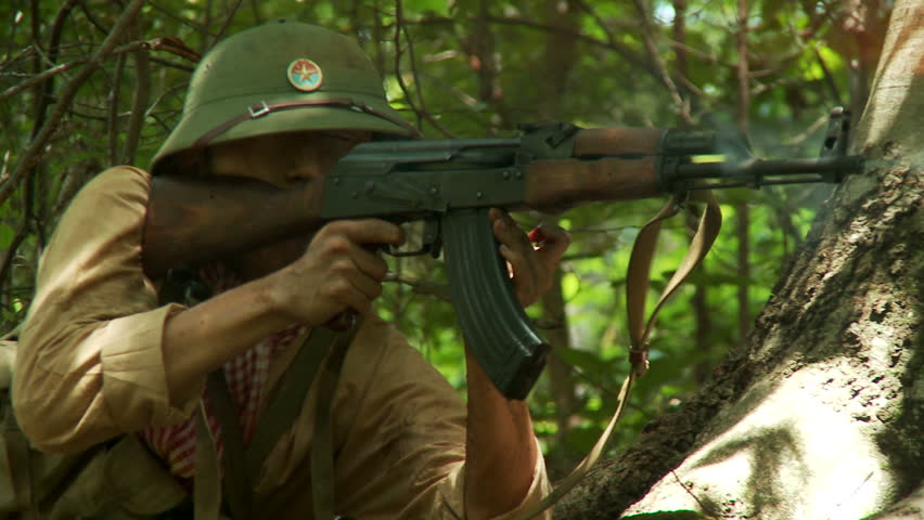 Image result for ak-47 in the vietnam war