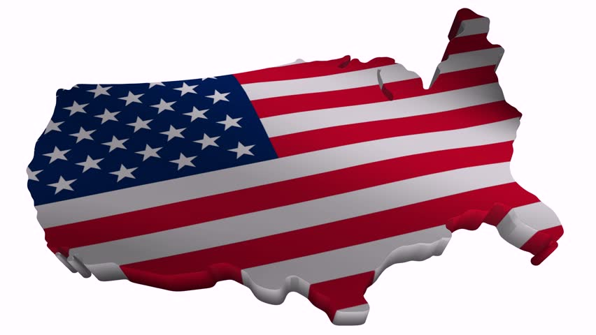 flag and map of united states of america stock footage video 1131427 shutterstock