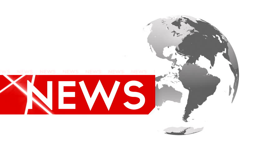 Globe animation with News Text series  | Shutterstock HD Video #11494787