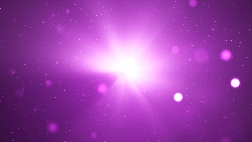 Moving particles. Purple tint. 4K Resolution (Ultra HD). Seamless loop. More colors available - check my portfolio.