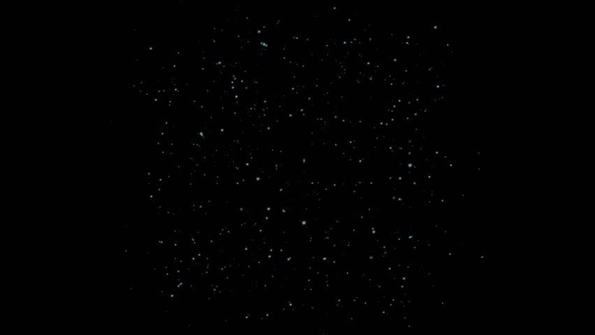 Dust particles and stars. | Shutterstock HD Video #11532077