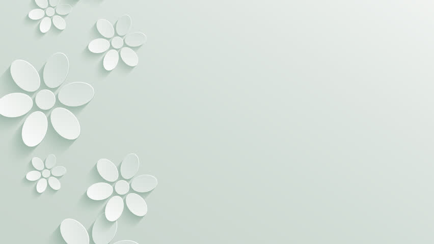 Wedding Floral Background With Place For Text