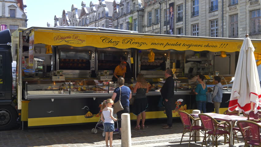Arras France August 2015 Stock Footage Video 100 Royalty Free