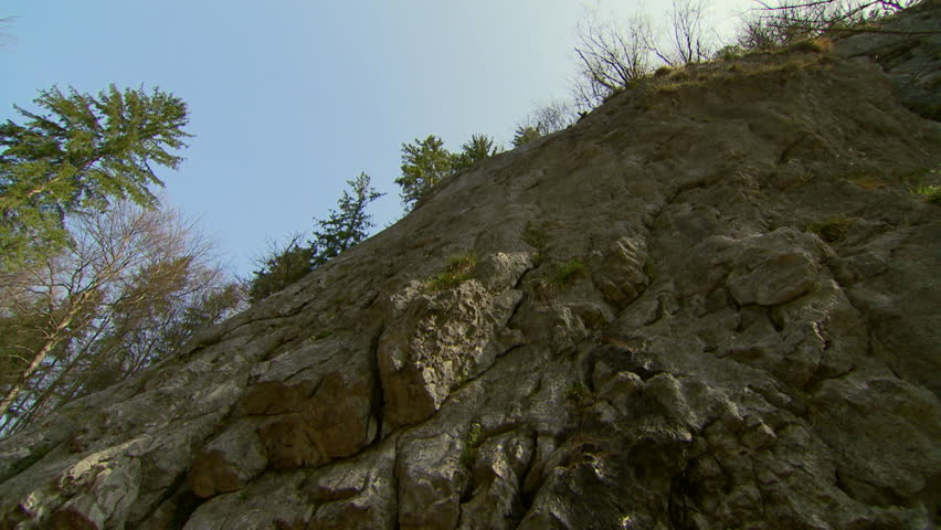 MS LA PAN Rock face / St. Gilgen, Salzburg, Austria | Shutterstock HD Video #11749277