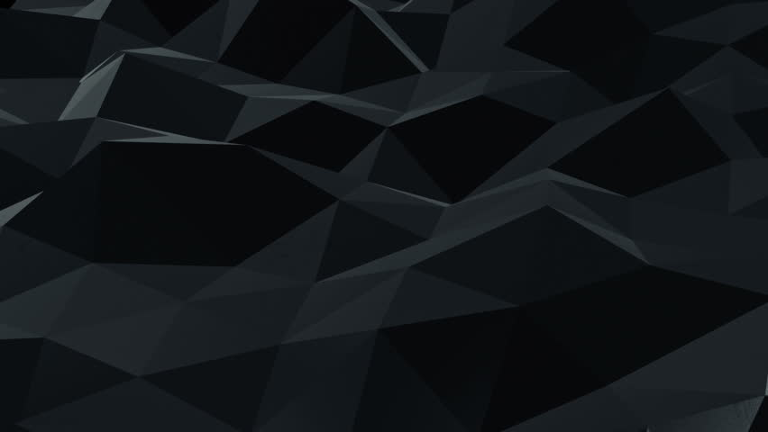 Abstract background with animation moving of dark triangles with glowing track of lava on their surfaces. Technologic backdrop with plastic surface with neon stripes. Animation of seamless loop. | Shutterstock HD Video #11752265