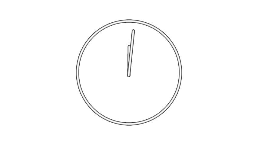 Clock time lapse full HD 1920x1080 24s 29.97Fps.   Shutterstock HD Video #11792807