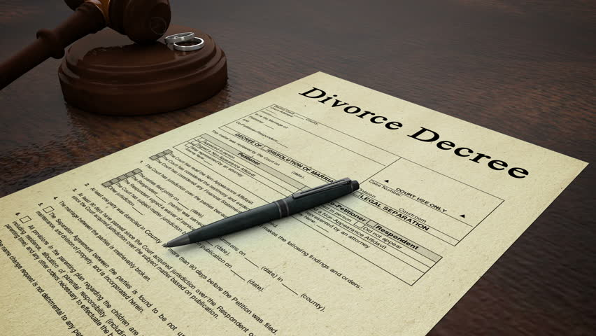 papers on divorce