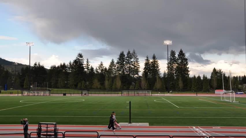 Sport field ; time lapse HD | Shutterstock HD Video #1200007