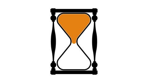 Hourglass (seamless loop & alpha)