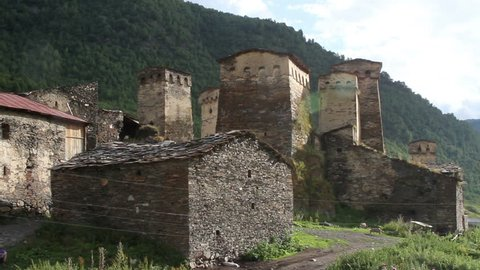 Svaneti old town 