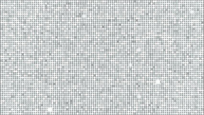 Silver Glitter Light Background – seamless looping