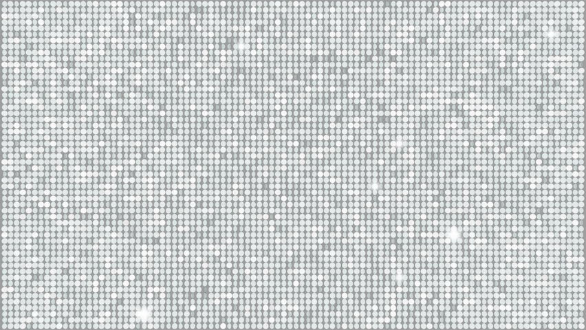 Silver Glitter Light Background  seamless looping