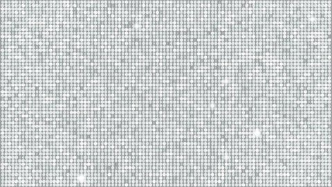 Silver Glitter Light Background – seamless looping