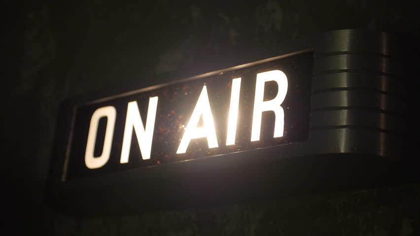 NEW YORK CITY - SEPTEMBER 2015. Recreation of 1920s, 1930s, 1940s Radios and radio studio,