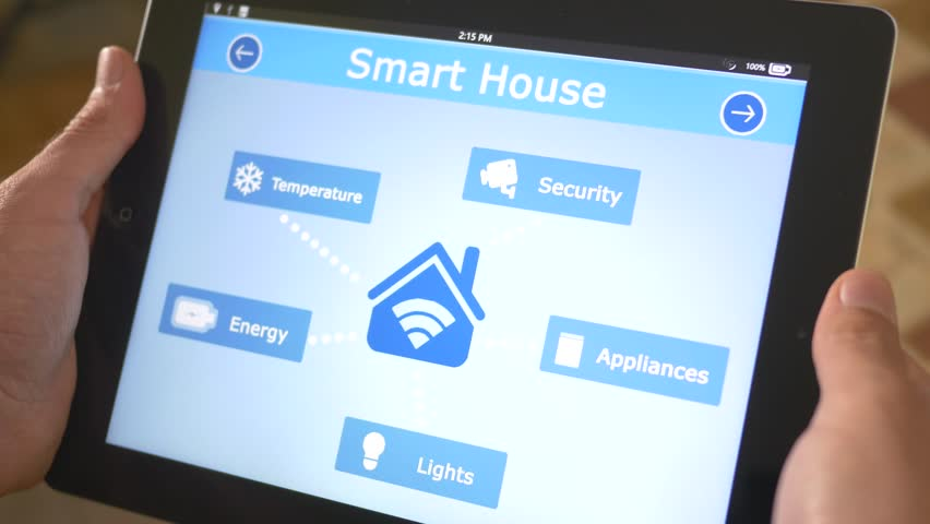 Smart house automation application on tablet iPad controling the energy sources of the building. The market is expected to grow of 11.36% between 2014/2020, and reach $12.81 billion by 2020.