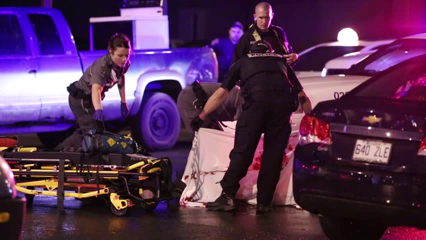 Quebec, Canada - May  2014 -  Man stabbed to death