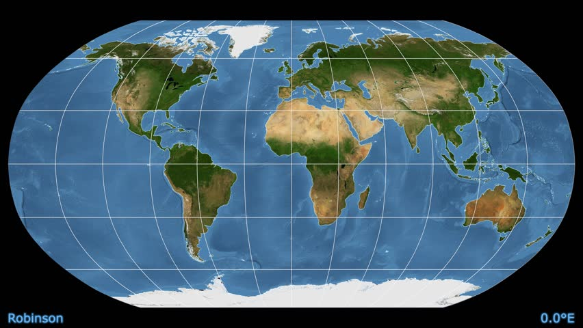 Distortion patterns animated world map in the winkel tripel animated world map in the robinson projection blue marble raster used gumiabroncs