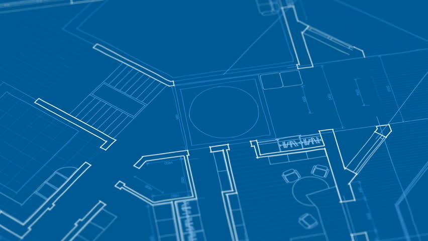 Vector architecture house plan background | Shutterstock HD Video #1231645