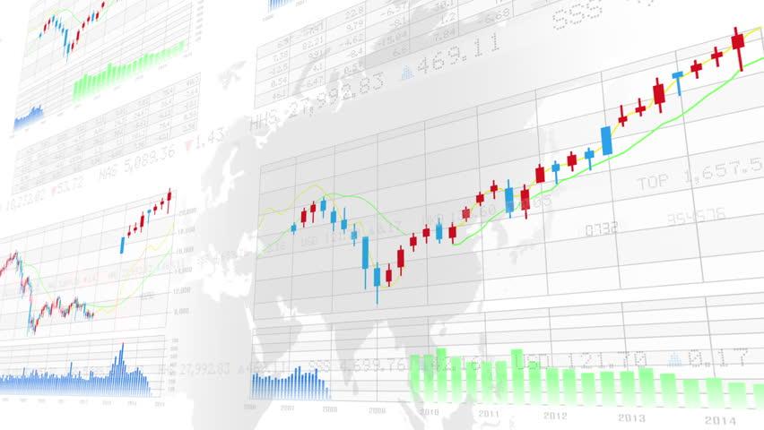Business Data Graph. | Shutterstock HD Video #12320867